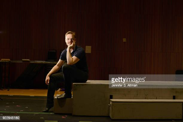Dancer/choreographer Christopher Wheeldon is photographed for Boston Globe on September 23 2016 in New York City PUBLISHED IMAGE