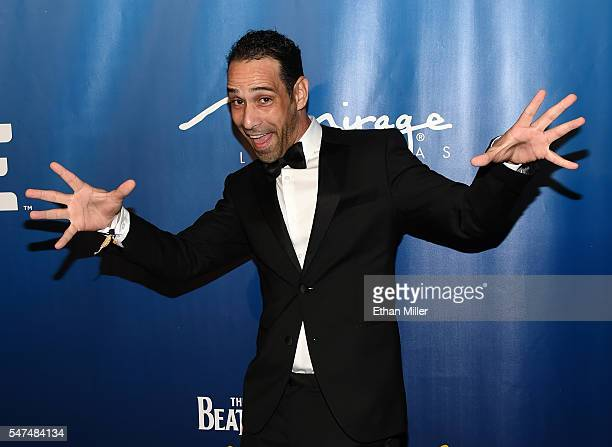 Dancer/choreographer Hassan El Hajjami attends the 10th anniversary celebration of The Beatles LOVE by Cirque du Soleil at The Mirage Hotel Casino on...