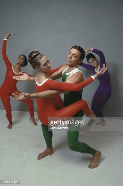 Dancer/choreographer Paul Taylor and his dance company performing 'Public Domain' in 1968