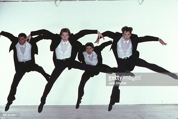 Dancer/choreographer Paul Taylor and his dance company performing 'Arden Court' in 1981