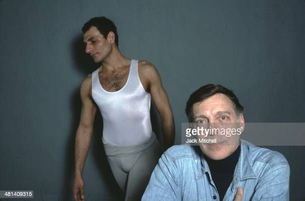 Dancer/choreographer Paul Taylor photographed in 1985