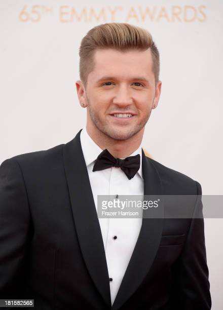 Dancer/choreographer Travis Wall arrives at the 65th Annual Primetime Emmy Awards held at Nokia Theatre LA Live on September 22 2013 in Los Angeles...