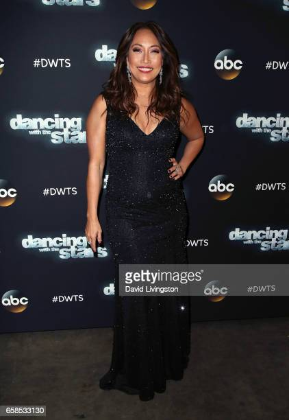 Dancer/competition judge Carrie Ann Inaba attends 'Dancing with the Stars' Season 24 at CBS Televison City on March 27 2017 in Los Angeles California