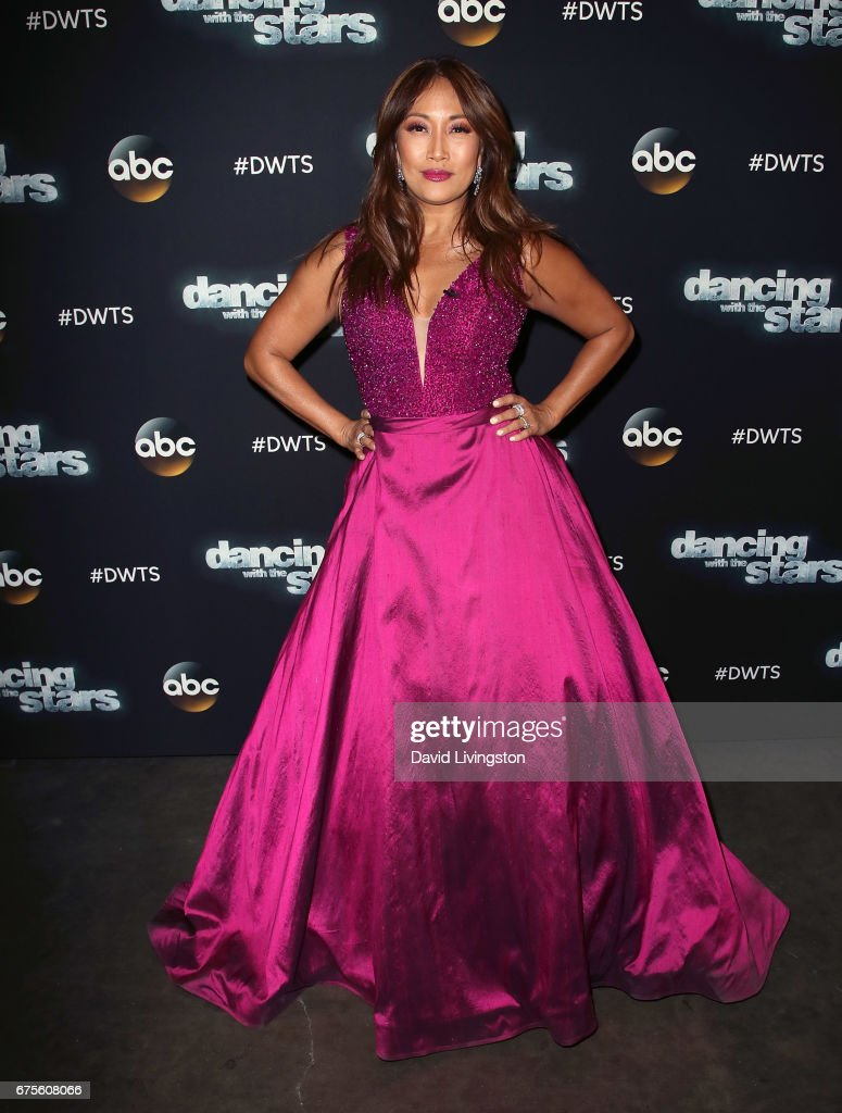 """Dancing With The Stars"" Season 24 - May 1, 2017 - Arrivals"