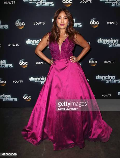 Dancer/competition judge Carrie Ann Inaba attends 'Dancing with the Stars' Season 24 at CBS Televison City on May 1 2017 in Los Angeles California