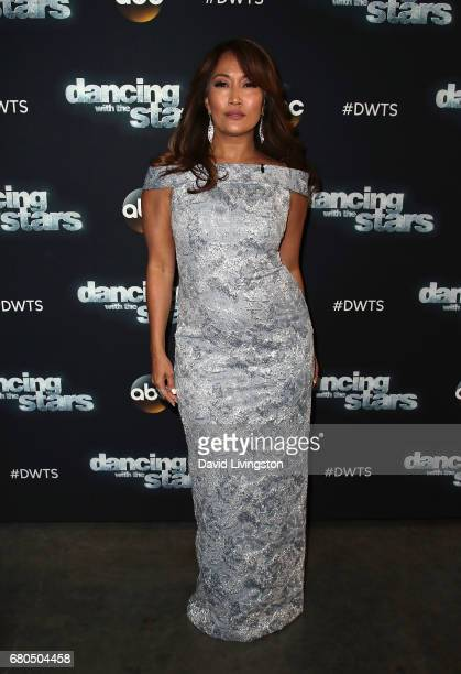 Dancer/competition judge Carrie Ann Inaba attends 'Dancing with the Stars' Season 24 at CBS Televison City on May 8 2017 in Los Angeles California