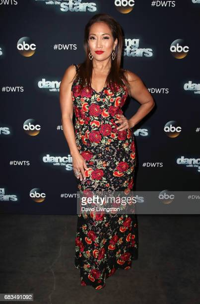Dancer/competition judge Carrie Ann Inaba attends 'Dancing with the Stars' Season 24 at CBS Televison City on May 15 2017 in Los Angeles California