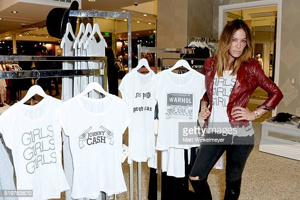 Dancer/designer Robin Antin attends Sheri Bodell Fall 2016 collection viewing at Kyle by Alene Too on April 7 2016 in Beverly Hills California