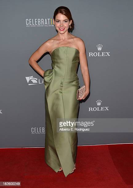 Dancer/journalist Eloisa Knife Maturen attends the Walt Disney Concet Hall's 10th Anniversary Gala at the Walt Disney Concert Hall on September 30...