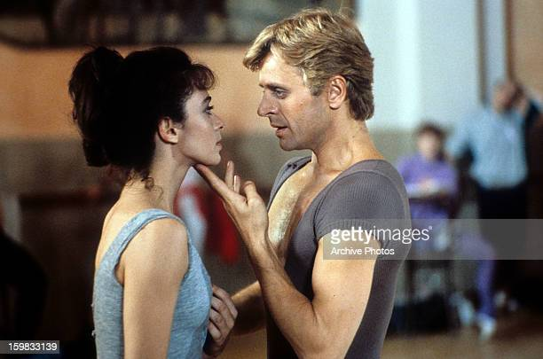 Dancers Alessandra Ferri and Mikhail Baryshnikov circa 1985