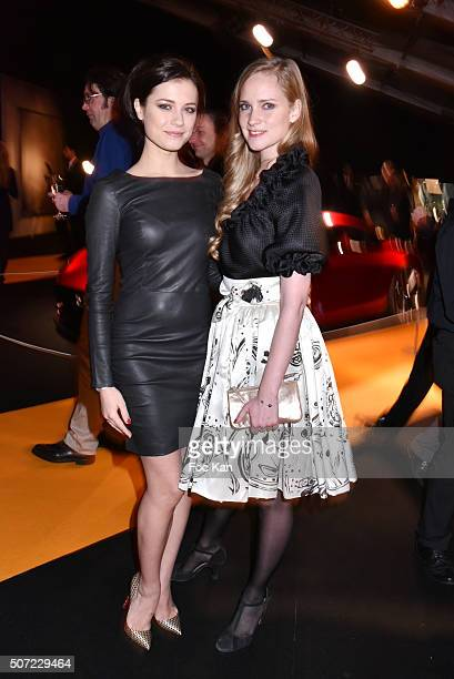 Dancers Alice Dufour and Juliette Gernez attend the 'Pirelli Calendar by Annie Leibovitz' Launch Party At Hotel National Des Invalides on January 27...