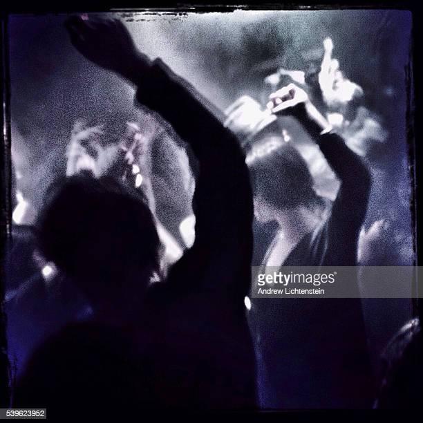Dancers at a Manhattan nightclub