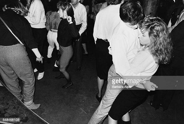 Dancers at a nightclub in New York City March 1989