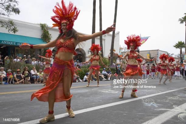 56000d541e7 Dancers at annual Summer Solstice Celebration and Parade June 2007 since  1974 Santa Barbara California