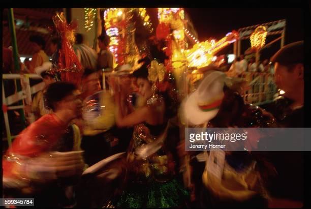 Dancers at Barranquilla Mardi Gras