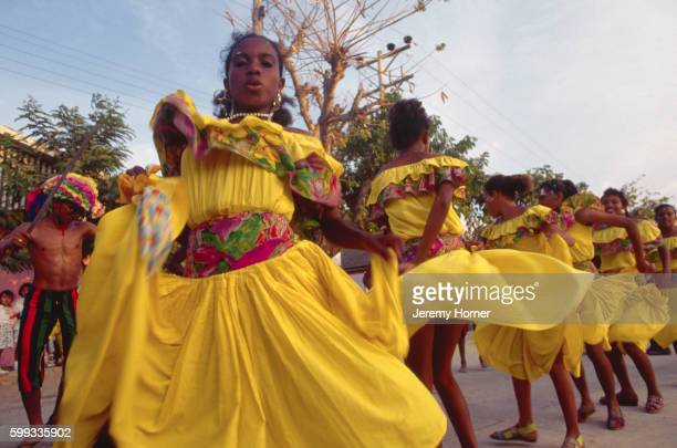 Dancers at the Barranquilla Carnival