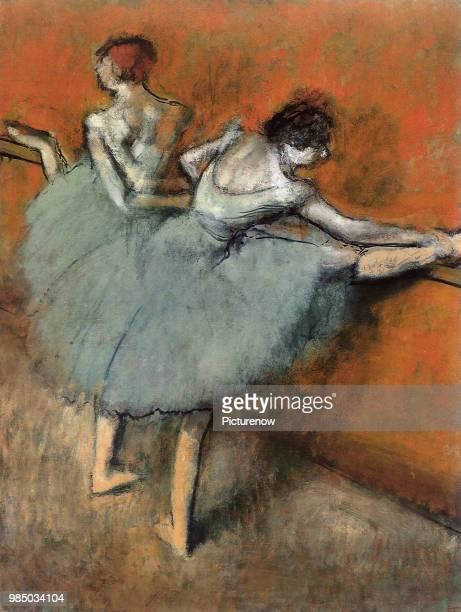 Dancers at the Barre Degas Edgar