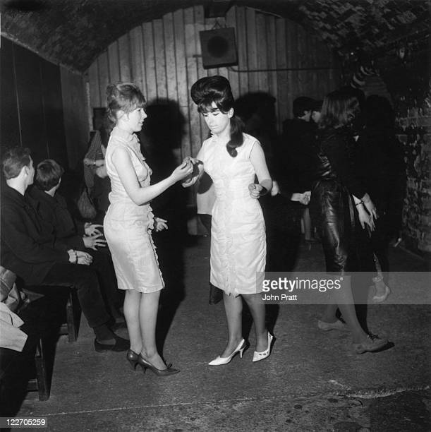 Dancers at the Cavern Club Liverpool 29th April 1963