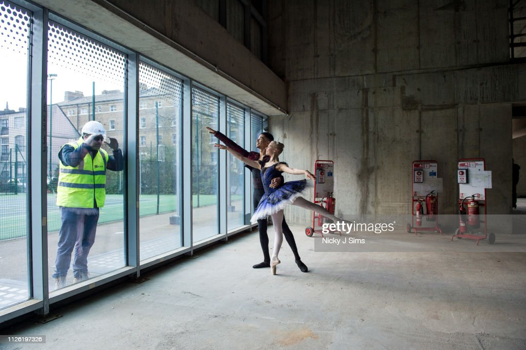 GBR: Ballet Central Photocall