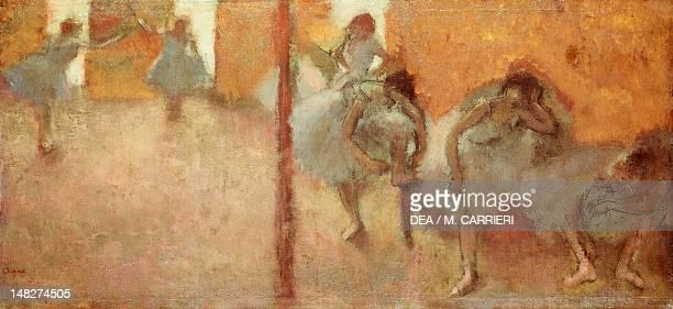Dancers by Edgar Degas Chicago Art Institute Of Chicago