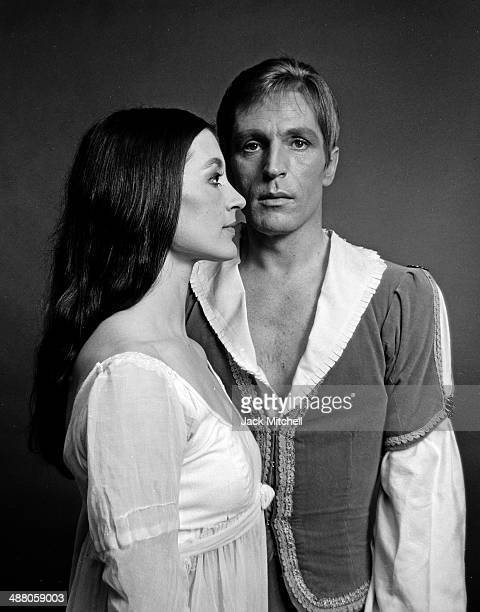 Dancers Carla Fracci and Erik Bruhn in American Ballet Theatre's 'Romeo and Juliet', May 1967.