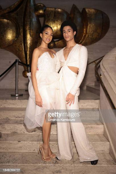 Dancers Courtney Lavine and Melvin Lawovi attend the American Ballet Theatre's Fall Gala at David H. Koch Theater at Lincoln Center on October 26,...