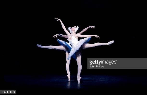 Dancers Daria Klimentova And Vadim Muntagirov Perform Selected Extracts From The English National Ballet'S Upcoming Production Of Swan Lake At The...