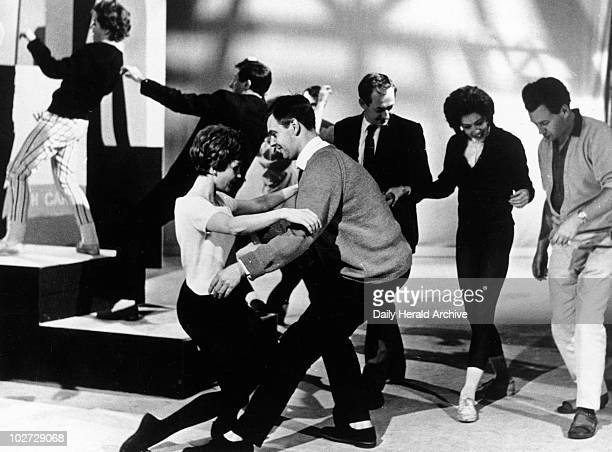 Dancers doing the twist 1960s 'The Twist comes to television ABC Television's 'Thank Your Lucky Stars' programme on Saturday November 4th features...