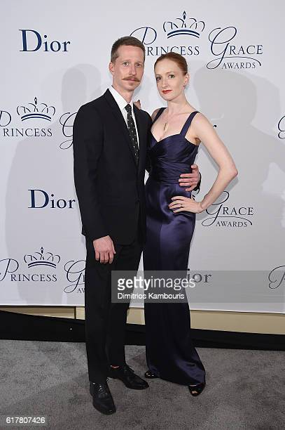 Dancers Ethan Stiefel and Gillian Murphy attend the 2016 Princess Grace Awards Gala with presenting sponsor Christian Dior Couture at Cipriani 25...