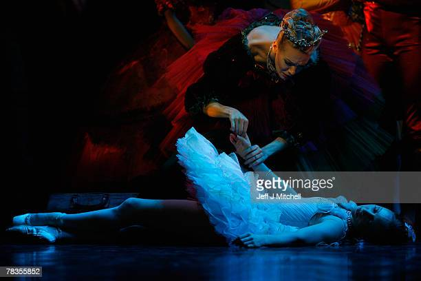 Dancers from Scottish Ballet perform during the dress rehearsal for their production of the treasured fairytale The Sleeping Beauty on December 10...