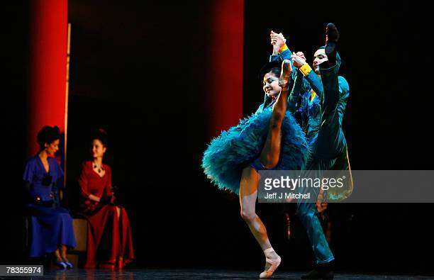 Dancers from Scottish Ballet perform during the dress rehearsal for their production of the treasured fairytale The Sleeping Beauty December 10 2007...
