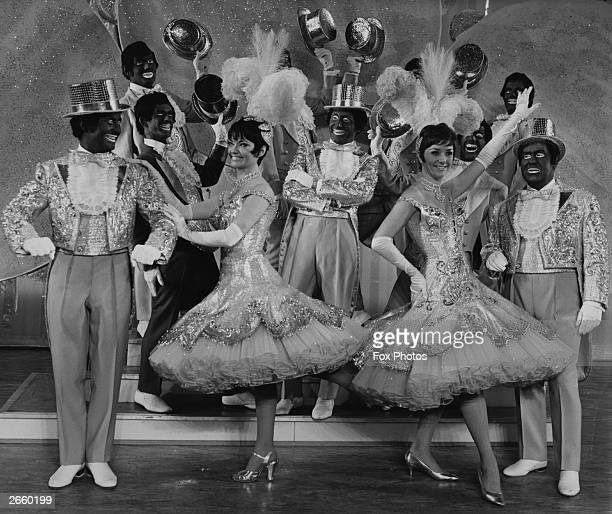 Dancers from 'The Black and White Minstrel Show'