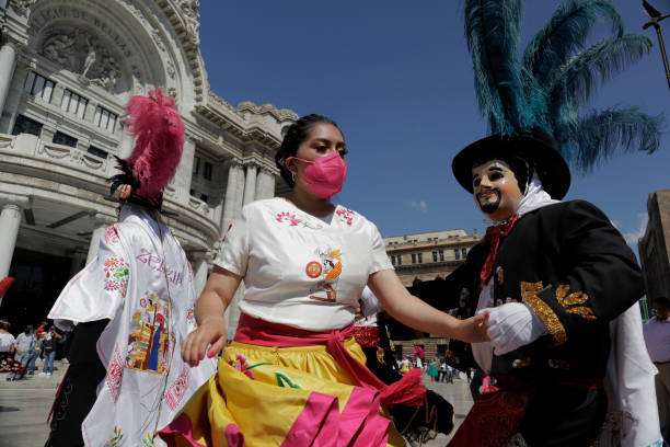 MEX: Dance Of The Huehues In Mexico City