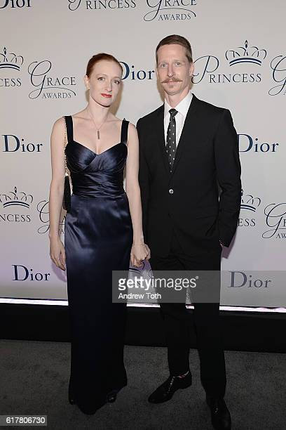 Dancers Gillian Murphy and Ethan Stiefel attend the 2016 Princess Grace Awards Gala with presenting sponsor Christian Dior Couture at Cipriani 25...