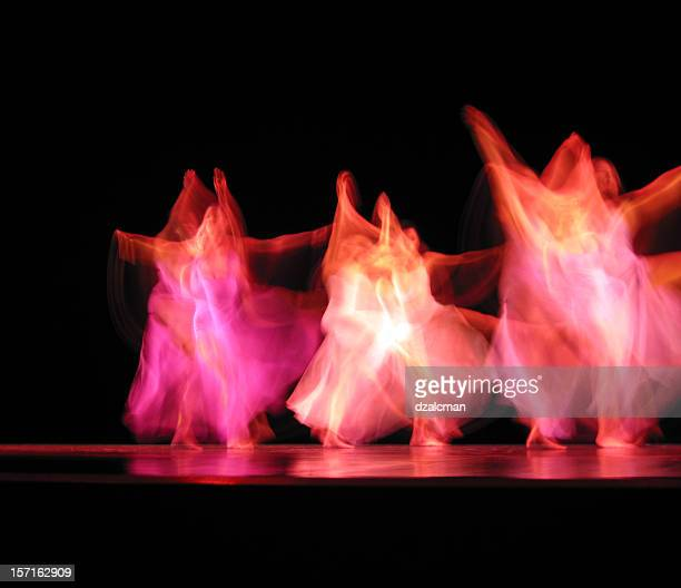 dancers iii - modern dancing stock pictures, royalty-free photos & images