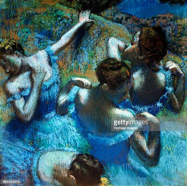 'Dancers in Blue' c1898 Found in the collection of the State A Pushkin Museum of Fine Arts Moscow