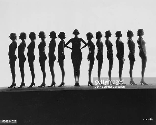 Dancers in Silhouette from The Great Ziegfeld