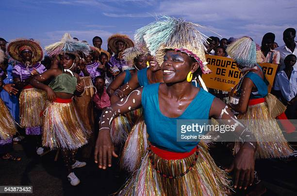 Dancers in Yaounde