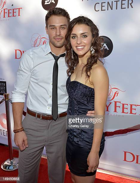 Kathryn mccormick stock photos and pictures getty images dancers kathryn mccormick and ryan guzman attend the 2nd annual dizzy feet foundations celebration of dance voltagebd Images