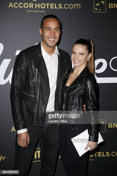 Dancers Laurent Maistret and Denitsa Ikonomova from 'Danse avec les Stars' attends the '4th Melty Future Awards' at Le Grand Rex on February 6 2017...