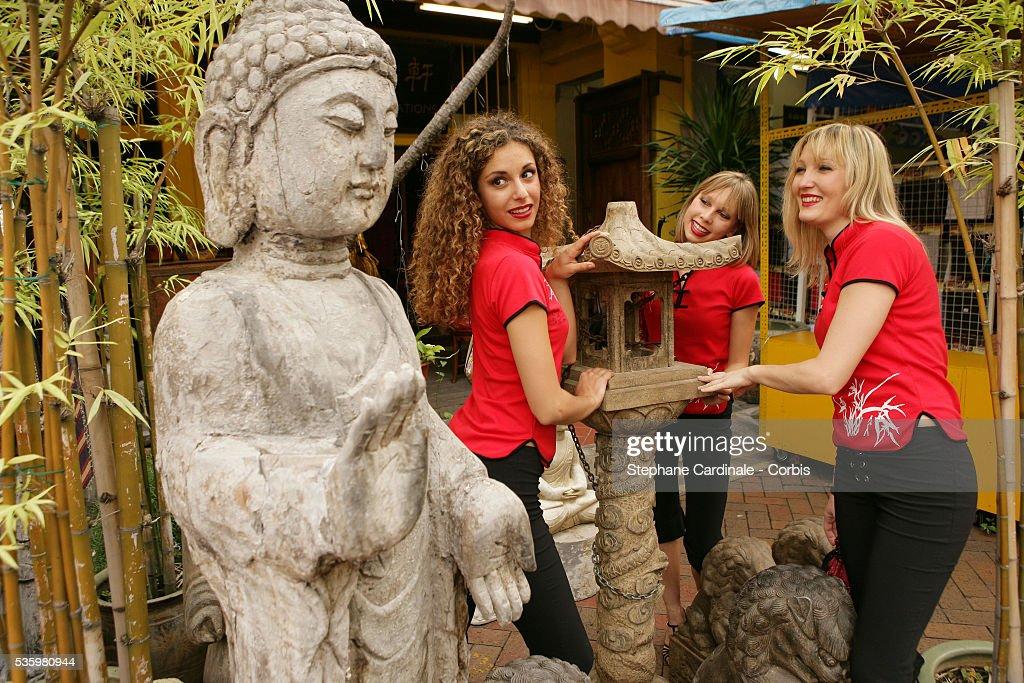 Dancers Loa Vahina, Lady Pousse Pousse and Dreama Blue.