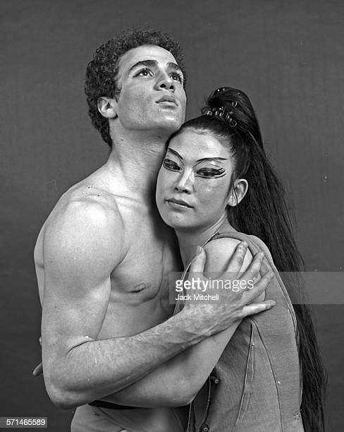 Dancers Louis Falco and Mariko Sanjo in Alvin Ailey's 'Labyrinth' in May 1963