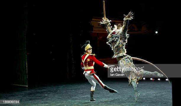 Dancers of the English National Ballet perform The Nutcracker at the Coliseum on December 14 2011 in London England