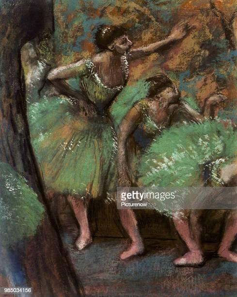 Dancers on a Break Degas Edgar