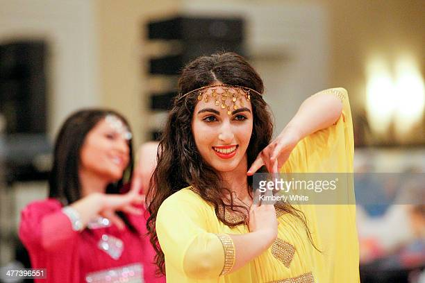 Dancers perform at the PARS Equality Center 4th Annual Nowruz Gala at Marriott Waterfront Burlingame Hotel on March 8 2014 in Burlingame California