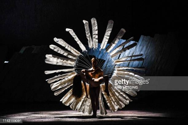 TOPSHOT Dancers perform during a general rehearsal of 'Lady Macbeth of Mtsensk' an opera by Russian composer Dmitri Shostakovich and directed by...