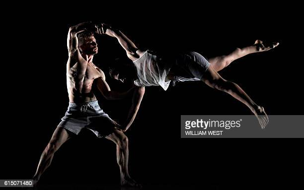 Dancers perform during a preview of Sydney Dance Companys new double bill production Untamed comprising works by Australian choreographer Gabrielle...