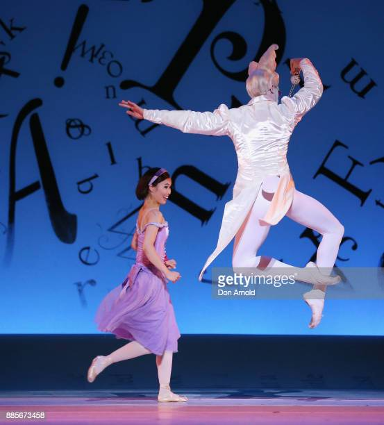 Dancers perform during rehearsals for Alice's Adventures in Wonderland at Capitol Theatre on December 4 2017 in Sydney Australia