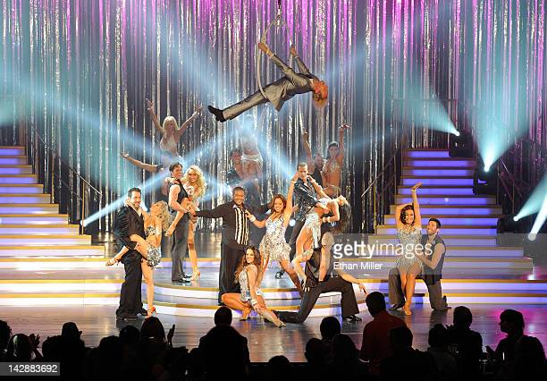 Dancers perform during the grand opening of Dancing With the Stars Live in Las Vegas at the New Tropicana Las Vegas April 13 2012 in Las Vegas Nevada