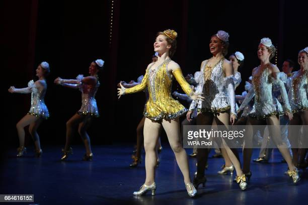 Dancers perform during the Opening Night Royal Gala performance of '42nd Street' in aid of the East Anglia Children's Hospice at the Theatre Royal...